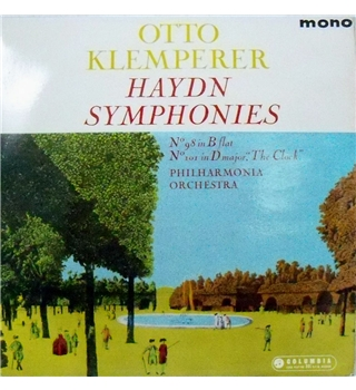 "Haydn: Symphonies 98 and 101 (""The Clock"")"