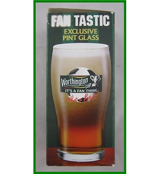 BNIB - Worthington Creamflow Bitter - Exclusive Pint Glass