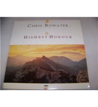 the highest honour chris bowater - sopr 2030
