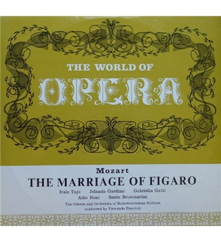 The World of Opera - The Marriage of Figaro - Mozart - W 7996 - 8001