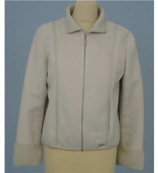 Next size: 10 cream casual jacket