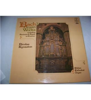 bach organ works nicolas kynaston - cfp 40241