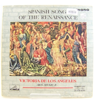 Spanish Song of the Renaissance. Victoria de Los Angeles, Ars Musicae - ALP 1883