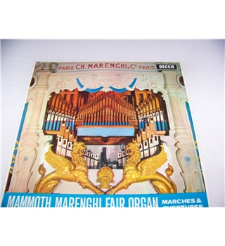 marches & overtures the mammoth marenghi fair organ - skl 4672
