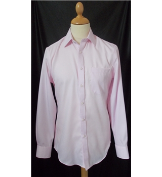 "NWOT Marks & Spencer size:38"" chest pink long sleeved shirt"
