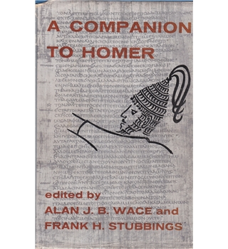 A Companion to Homer