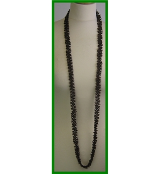 Unbranded - Size: Medium - Brown - seed Necklace