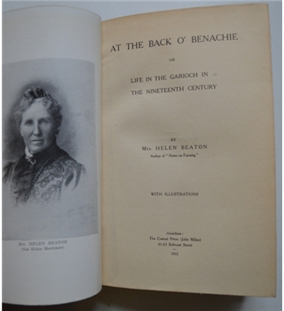 At The Back o' Benachie or Life in the Garioch in the Nineteenth Century