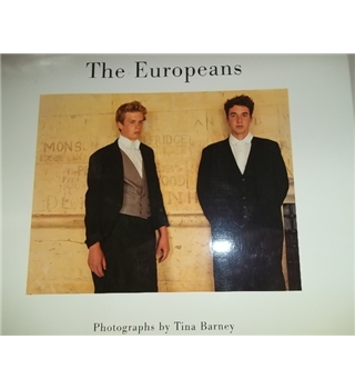The Europeans- Photographs by Tina Barney- Rare Signed copy