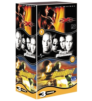 xXx, The Fast and the Furious, Biker Boyz (box set) 15
