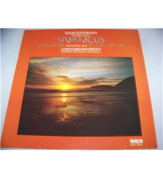 Khachaturian excerpts from Spartacus, etc. london symphony - rs 6038