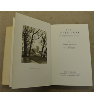 The Inheritors  An Extravagant Story - Joseph Conrad (Published by John Grant, 1925)