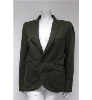 Full Circle Size 40 Green Jacket Full Circle - Size: M - Green