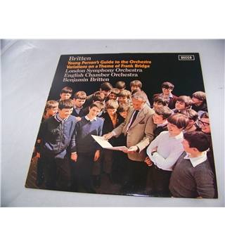 britten's young persons guide to the orchestra various - sxl 6450