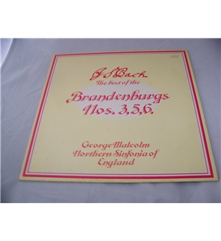 J S Bach The Best of the Brandenburgs Nos 3,5,6 northern sinfonia - ala 3006