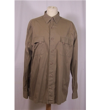 Lee Cooper Size M Brown Shirt