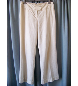 "Dorothy Perkins - Size: 34"" - Cream / ivory - Trousers"