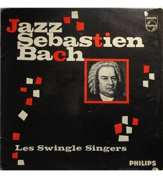Jazz Sebastien Bach - Les Swingle Singers - BL 7572