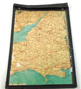 Vintage Motoring Map Case