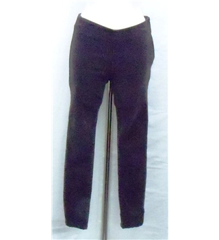 In Town Jeans dark brown needlecord skinnies Size 8