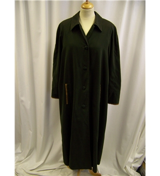 Savannah - Size 14 - Olive Green - Full length -  Rain Coat
