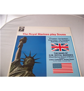 the royal marines play sousa the royal marines - sx 6292