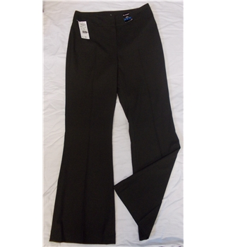 BNWT Planet size 10 dark brown trousers