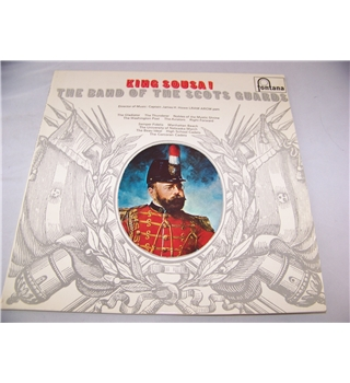 King Sousa! The Band of the Scots Guards - stl 5428