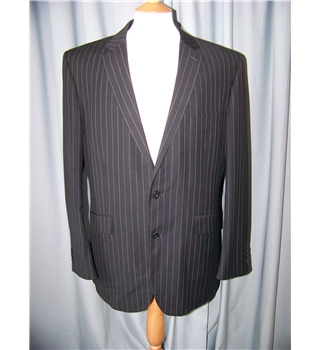 Limehaus - Size: L - Black - Single breasted suit jacket