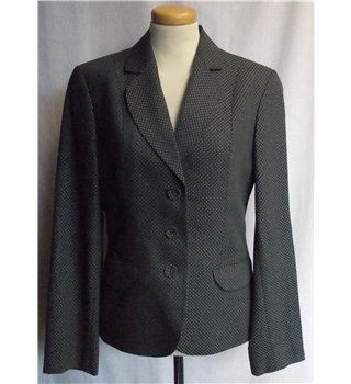 Next - Size: 8 - Grey/white - Smart jacket