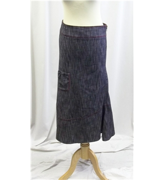 Cache - Size S - Blue - Calf length skirt