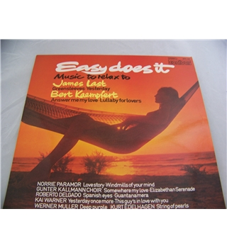 Easy does it - Music to relax to various artists - 2870 445