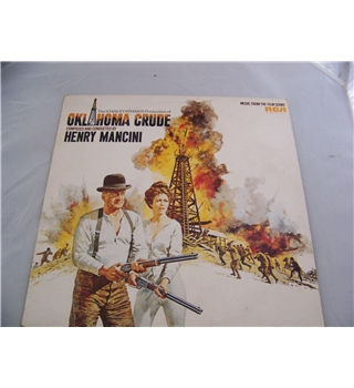 Music from the film score of Oklahoma Crude henry mancini - sf 8366