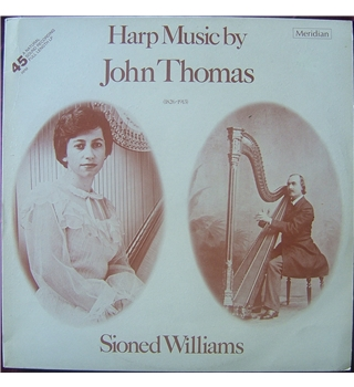 Harp Music by John Thomas Sioned Williams - E4577066
