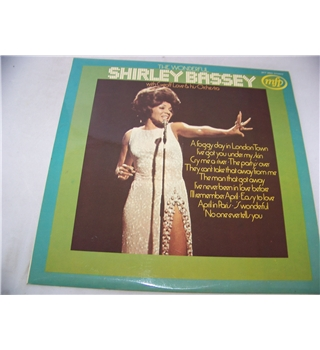 The wonderful Shirley Bassey - mfp 50043