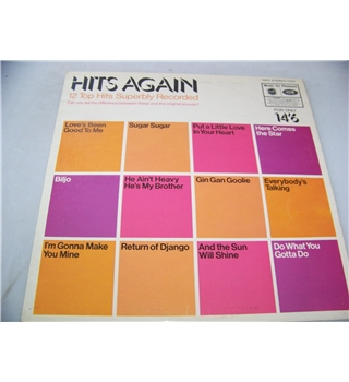hits again various artists - mfp 1351