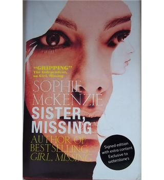 Sister, Missing- First Edition, Signed copy