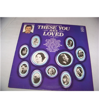 these you have loved volume four various artists - cfp 40337
