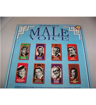 the golden age of male voice various artists - gx 2552 mono