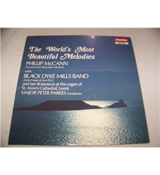 the world's most beautiful melodies black dyke mills band - bbrd 1029