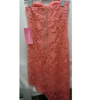 Womens Dress Daisy Promgirl Simplydresses - Size: 12 - Pink - Long dress
