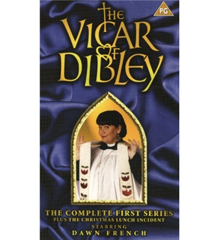 The Vicar of Dibley: the complete first series PG VHS