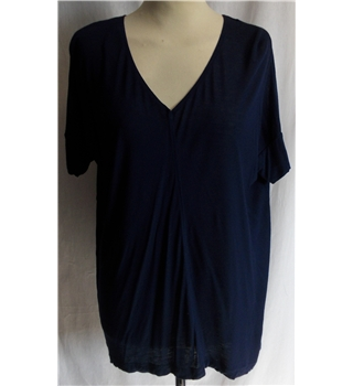 Zara - Size: S - Navy blue - Short sleeved top