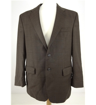Ralph Lauren Size 41R Brown Single Breasted Blazer