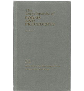 The Encyclopaedia of Forms and Precedents: 32 Public Health and Environmental Law Rating and Similar Charges