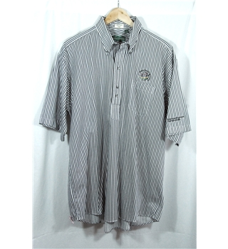 Michael Thomas Cotton Black/White  XL Sports Shirt.