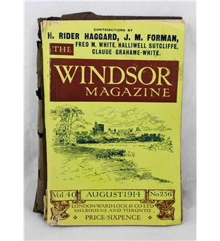 The Windsor Magazine August 1914