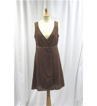 Stile Benetton - Size: Extra Small - Brown - Wrap around dress