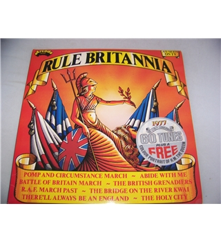 Rule Britannia various musicians and orchestras (double LP)- ade p29