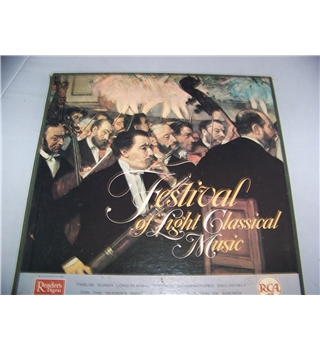Reader's Digest Adventures in Light Classical Music (12 LP box set)